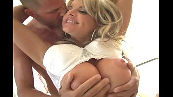 Blonde MILF with huge tits gets fucked 6 min
