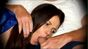 Mom to blowjob when s. on couch 13 min